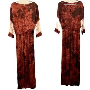 Gypsy Hollywood tie dye jumpsuit. Small.